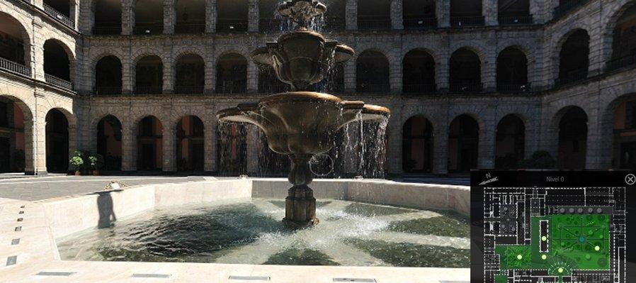 Visita Virtual al Palacio Nacional