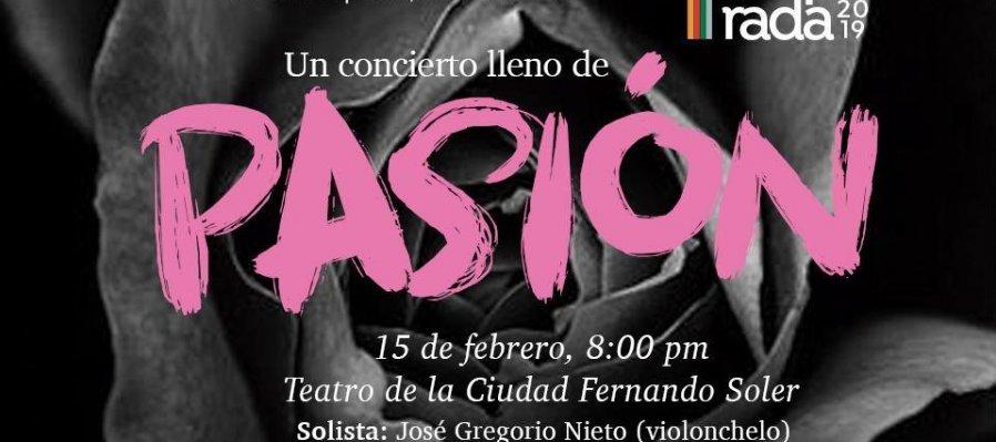 Concierto No. 2 de Temporada. Orquesta Filarmónica del Desierto, Coahuila de Zaragoza