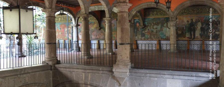 La Nueva España hospitalaria. Centro Histórico, Ciudad de México