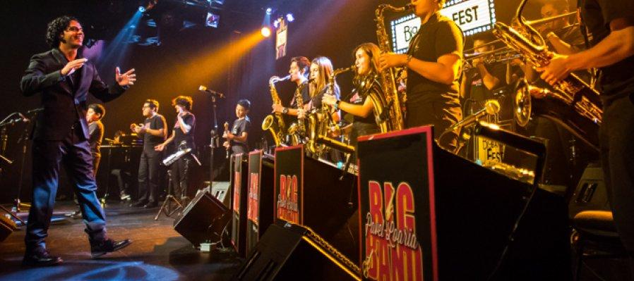 Pavel Loaria Big Band infantil y juvenil