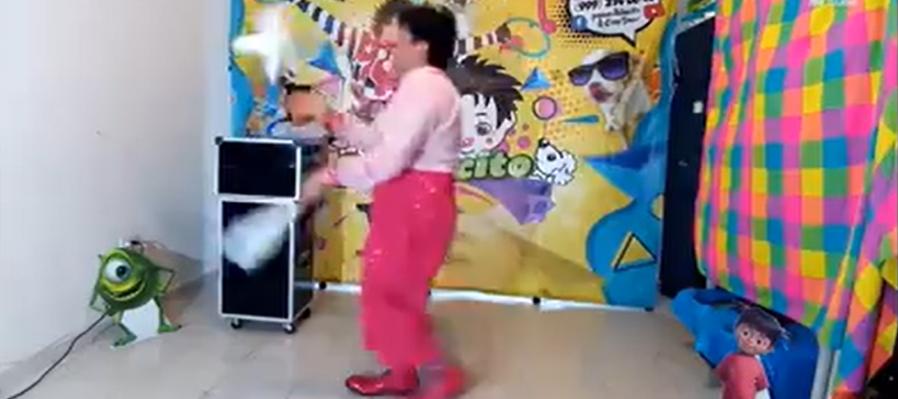 Circo, Magia y Marionetas, con el payaso Baloncito