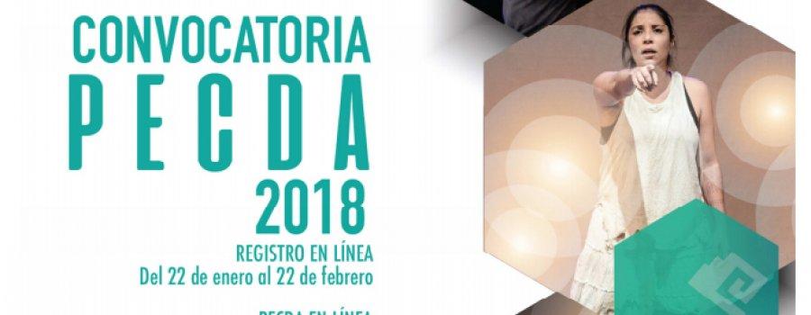 Convocatoria PECDA 2018