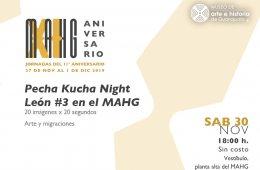 JUVENTUDES Pecha Kucha León Night #3 en el MAHG