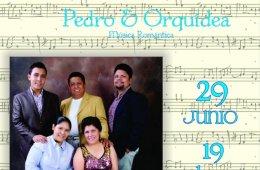 Pedro y Orquidea