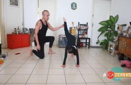 Aprende a bailar con Nahú y Pelopincho
