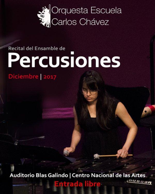 Recital del Ensamble de Percusiones de la OECCh