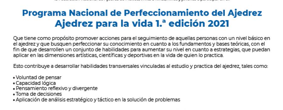 Programa Nacional de Perfeccionamiento del Ajedrez