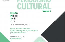 Diplomado en Periodismo Cultural | Módulo 4