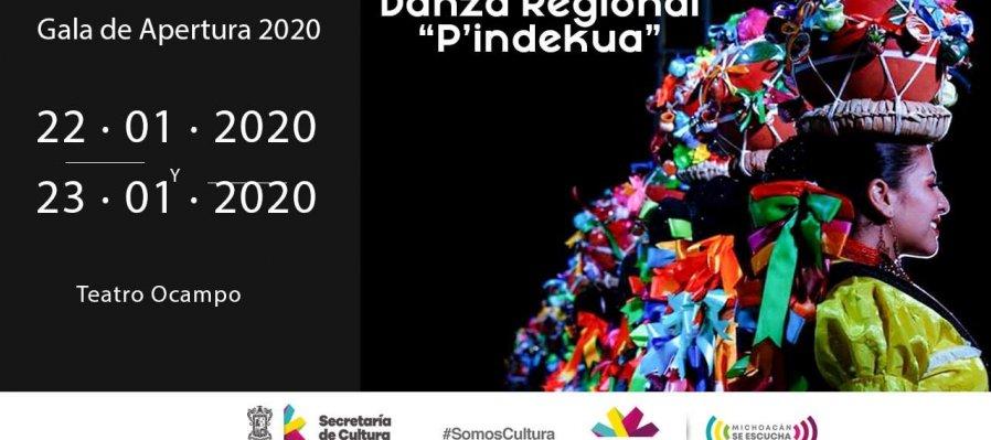 Compañía de Danza Regional P'indekua