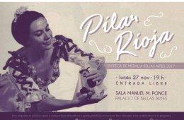 Pilar Rioja, recibirá la Medalla de Bellas Artes