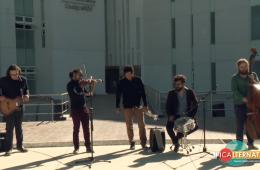 La Pingo's Orquesta en el Hospital Hidalgo