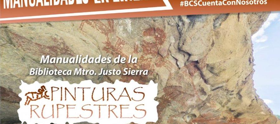 Manualidades en línea: pinturas rupestres