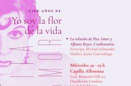 Charla: La relación de Pita Amor y Alfonso Reyes
