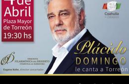 Plácido Domingo le canta a Torreón