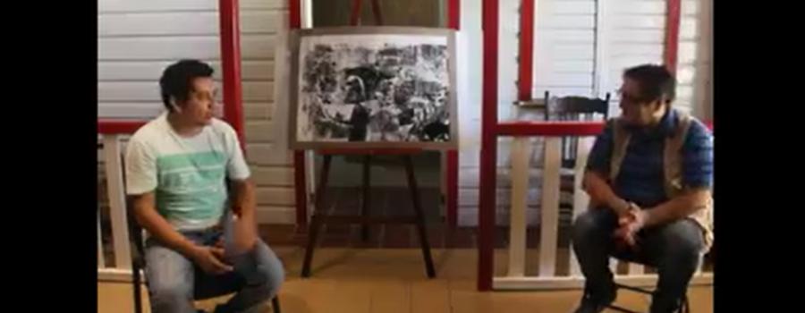 Obra de arte del artista plástico José