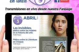 Plática en línea sobre la literatura en Chiapas