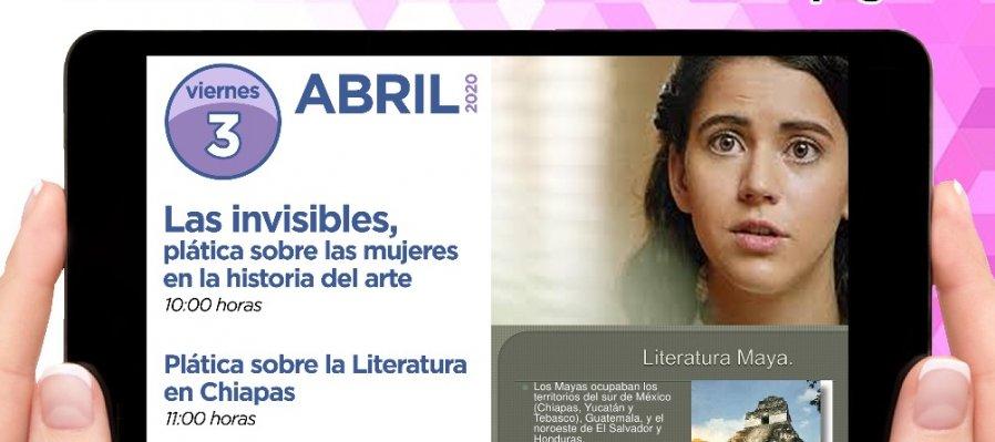 Las invisibles; plática sobre las mujeres en la historia del arte