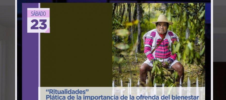 Plática de la importancia de la ofrenda del bienestar de San Juan Cancuc