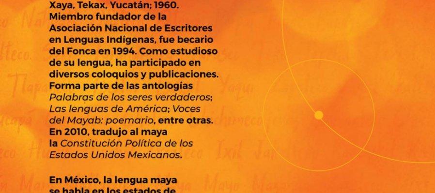 Cartografía poética. Poema de Feliciano Sánchez Chan en lengua maya