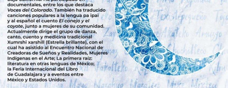 Cartografía poética. Poema de Delfina Albañez en lengua pa ipai