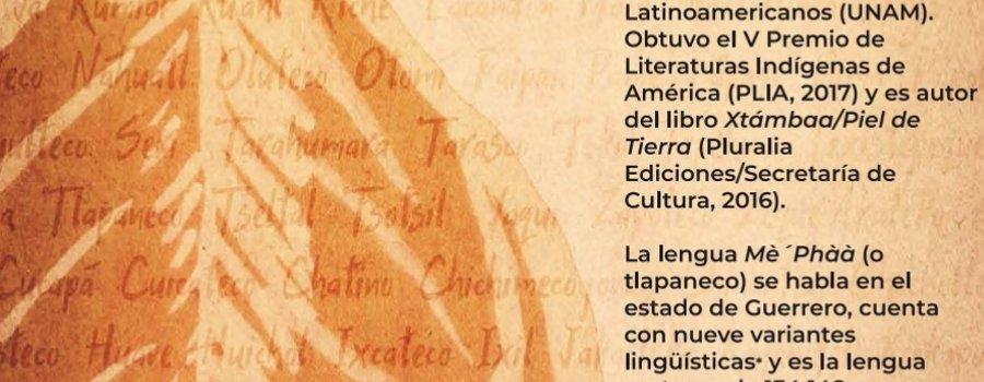 Cartografía poética. Poema de Hubert Matiúwàa en lengua mèphàà