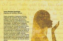 Cartografía poética. Poema de Irma Pineda en lengua zap...
