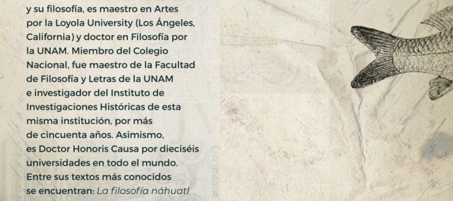Cartografía poética. Especial en homenaje a Miguel León-Portilla
