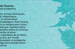 Cartografía poética. Poema de Rubí Huerta en lengua pu...