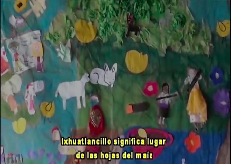 Lectura de poemas en náhuatl