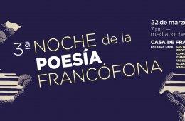 Noche de la Poesía Francófona