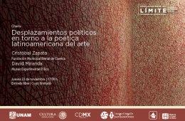 Desplazamientos políticos en torno a la poética latinoa...
