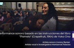 Pomelo (Grapefruit, 1964) de Yoko Ono