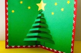 Tarjetas pop-up navideñas
