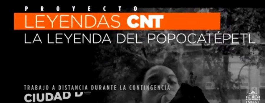 La leyenda del Popocatépetl