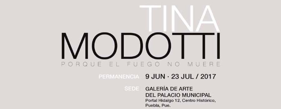 Tina Modotti. Porque el fuego no muere