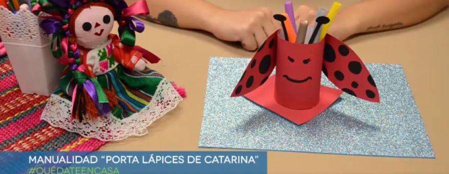 Porta lápices de Catarina