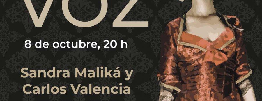 Sandra Maliká y Carlos Valencia