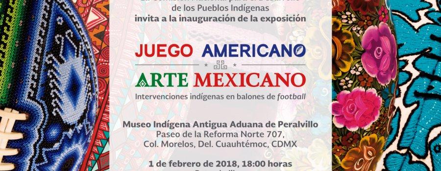 Juego Americano. Arte Mexicano