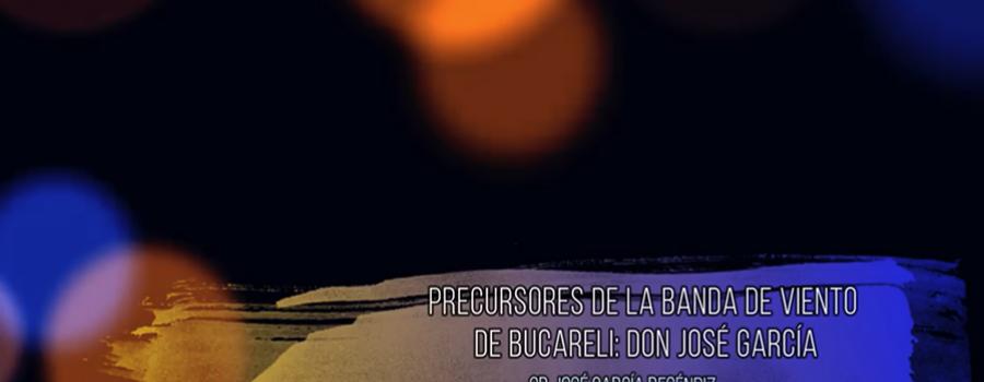 Precursores de la banda de viento de Bucareli Benito García