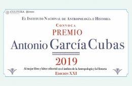 Convocan al Premio Antonio García Cubas