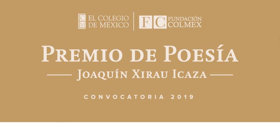 Premio de Poesía Joaquín Xirau Icaza