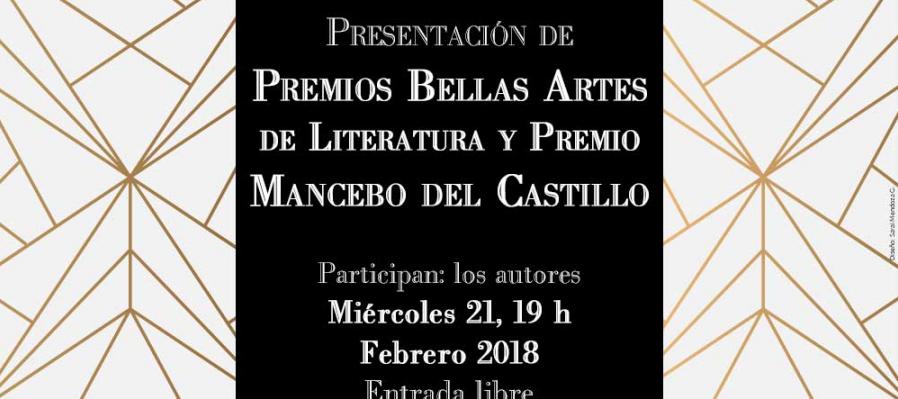 Cuarteto de voces de la dramaturgia: Presentación de Premios Bellas Artes de Literatura y Premio Mancebo del Castillo