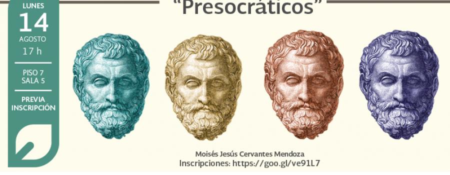La sabiduría griega: Presocráticos
