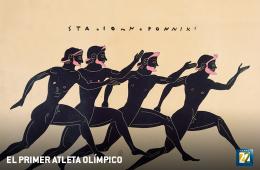 El primer atleta olímpico