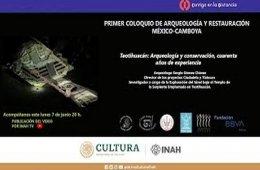 1er Coloquio de Arqueología y Restauración, México-Cam...