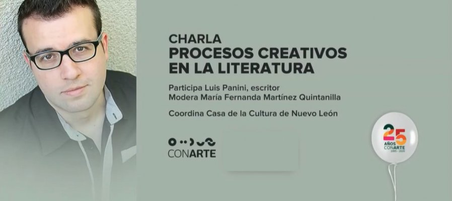 Charla sobre procesos creativos en la literatura