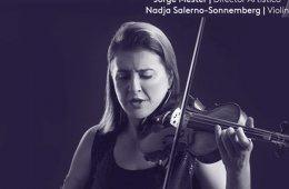Nadja Salerno-Sonnemberg con la Orquesta Filarmónica de ...