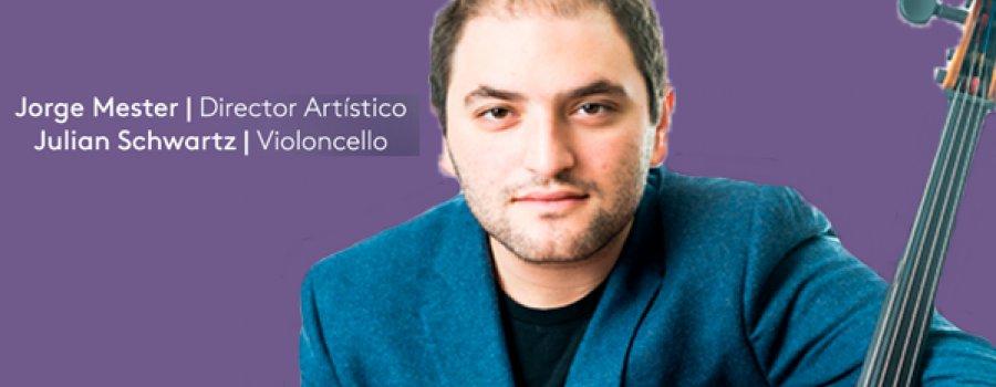 Julián Schwartz con la Orquesta Filarmónica de Boca del Río
