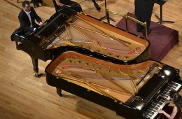 Mozart y el piano en familia