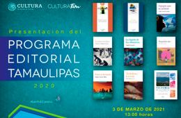 Programa editorial Tamaulipas